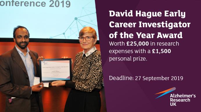 David Hague Early Career Investigator of the Year Award